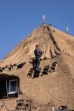 thatching 4 крыш Стоковые Фотографии RF