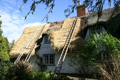 Thatching in Suffolk Royalty Free Stock Image