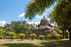 Thatmakmo stupa w Luang Prabang Zdjęcia Stock