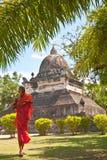Thatmakmo stupa w Luang Prabang Zdjęcie Royalty Free