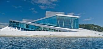 Théatre de l'$opéra Oslo Photographie stock