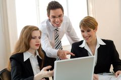 Thats awesome! Teamwork! Power Royalty Free Stock Image