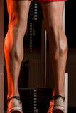 Thats How You Train Legs Calves Stock Image