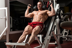 Thats How You Train Legs Calves Royalty Free Stock Images