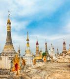 Thaung Tho Temple on Inle Lake. Myanmar. Royalty Free Stock Photo