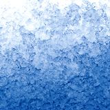 Thawing snow. Texture in the form of melting snow with a blue tinted Royalty Free Stock Photos