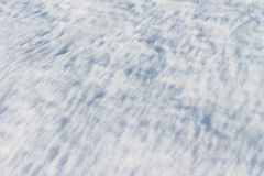 The thawing snow in the spring Royalty Free Stock Photos