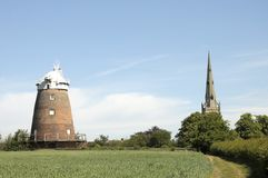 Thaxted windmill Stock Image