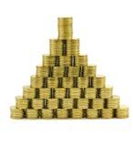 THB van het muntstuk Royalty-vrije Stock Afbeelding