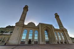 Bibi-Heybat Mosque - Baku, Azerbaijan. The Bibi-Heybat Mosque is a historical mosque in Baku, Azerbaijan. The existing structure, built in the 1990s royalty free stock images