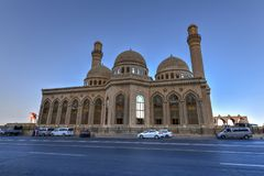 Bibi-Heybat Mosque - Baku, Azerbaijan. The Bibi-Heybat Mosque is a historical mosque in Baku, Azerbaijan. The existing structure, built in the 1990s stock photos