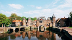 The Koppelpoort, Amersfoort Photos stock