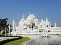 """The白色Temple†在城镇Ria,泰国 库存图片"