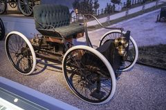 Free The 1896 Ford Quadricycle Runabout The First Henry Ford Car Stock Photo - 158094950