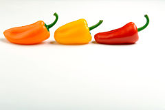 The 3 Peppers Royalty Free Stock Photos