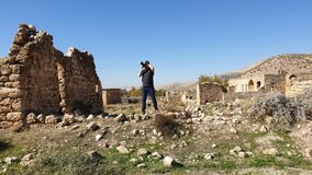 Free The Abandoned Syriac Village Of Killit Dereici, Near Savur Town, In The Southeastern Turkey Royalty Free Stock Images - 187998259