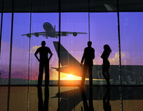 The Airport Stock Image