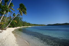 The Alabaster Beach In Fiji Stock Photography
