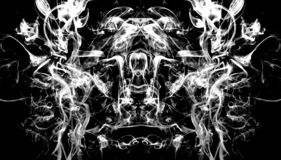 Free The Alien From The Smoke 2 Stock Images - 136625834