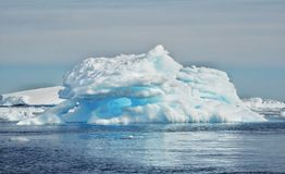 The Amazing Landcape Of Antarctica Stock Photography
