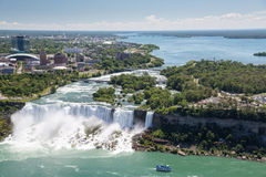 Free The Amazing Power Of Niagara Falls From The Canadian Side Royalty Free Stock Image - 97725516
