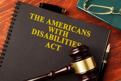Free The Americans With Disabilities Act ADA. Stock Photography - 96885182