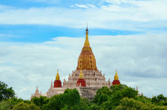 The Ananda Temple, Located In Bagan, Myanmar. Royalty Free Stock Photos