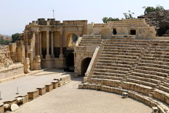 The Ancient City Of Beit She`an Royalty Free Stock Image