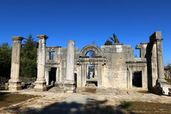 Free The Ancient Synagogue In Baram National Park. Stock Photography - 83674082