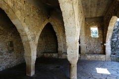 Free The Ancient Synagogue In Baram National Park. Stock Images - 83674864