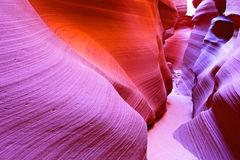 The Antelope Canyon Royalty Free Stock Photography