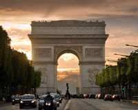 The Arch. Royalty Free Stock Image