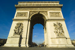 Free The Arch Of Triumph Royalty Free Stock Image - 8054366