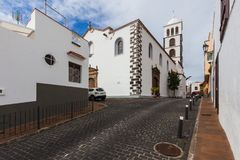 Free The Architecture Of Garachico Village On Tenerife Royalty Free Stock Image - 121770336