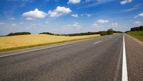 The Asphalted Road Stock Image