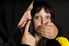 Free The Attack On The Girl And The Threat Of Stock Photography - 31680682
