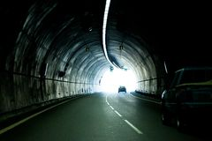 Free The Automobile Tunnel Stock Photo - 28073390
