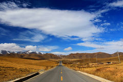 Free The Autumnal Scenery Of Qinghai - Tibet Plateau Stock Photos - 62293323
