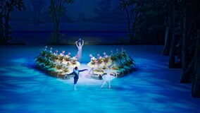 Free The Ballet Artists Perform Ballet The Sleeping Beauty On The Stage Of Mariinsky II Theatre In Saint Petersburg, Russia Royalty Free Stock Image - 170375766