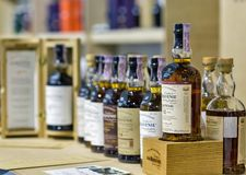 The Balvenie Whisky Booth At Whisky Dram Festival. Kiev, Uktaine. Royalty Free Stock Photos