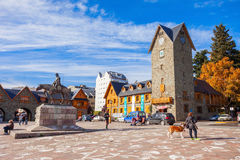 The Bariloche Civic Centre Royalty Free Stock Photography