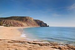 The Beach On The Rocky Coast. Royalty Free Stock Photos