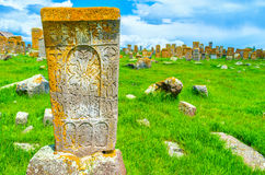 Free The Beautiful Preserved Khachkar Royalty Free Stock Photos - 76501868