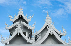 The Beautiful Roof Of The Temple In Thailand Stock Image