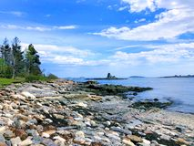 Free The Beautiful Summer Views Of East Boothbay Royalty Free Stock Photography - 157221257