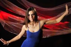 The Beautiful Woman In Dance Stock Photos