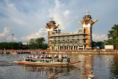 Free The Beauty Of Banjarmasin`s View Tower Stock Images - 147734594