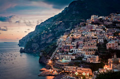 The Beauty Of Positano Royalty Free Stock Photography