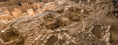 Free The Beginning Of Time. Ancient Site Of Gobekli Tepe In Turkey Royalty Free Stock Image - 185926826