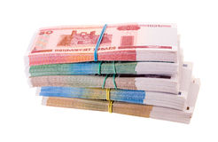 The Belorussian Money (isolated) Stock Photo